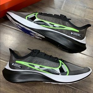 Nike Zoom Gravity Running Shoes Bla Ghost Gree Whi